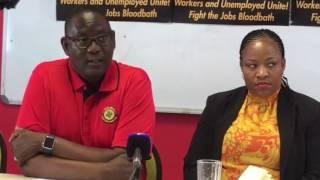 Vavi warns Zuma to leave Gordhan alone