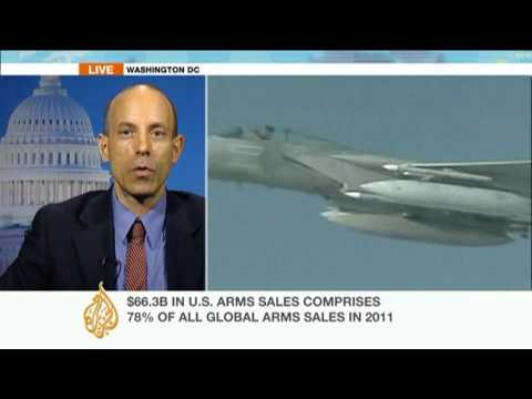 US arms sales hit record levels