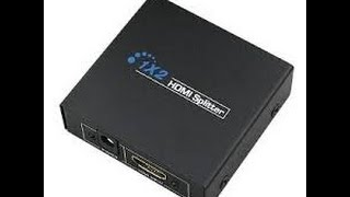 Unboxing de mon splitter HDMI1*2