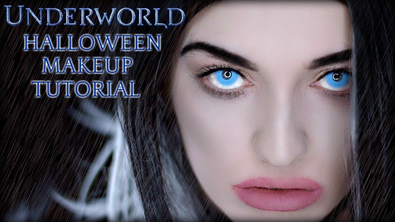 UNDERWORLD HALLOWEEN MAKEUP TUTORIAL | Easy Makeup For Beginners