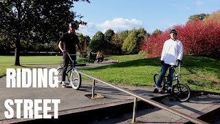 BMX With a Special Guest!