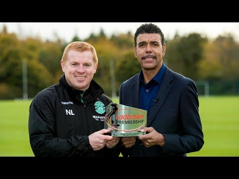 Neil Lennon | October Manager of the Month