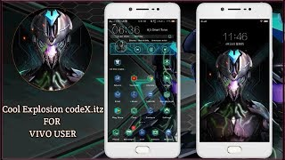 Vivo theme Cool Explosion codeX.itz