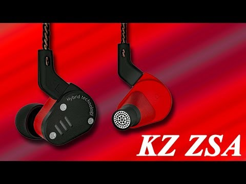【Amazon割引クーポンあり】小型ZS6⁉  ハイコスパな金属筐体イヤホン KZ ZSA ご紹介!