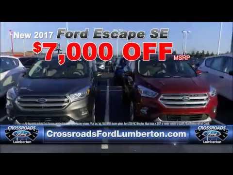 Crossroads Ford Lumberton Focus Fusion Escape 3 17 17