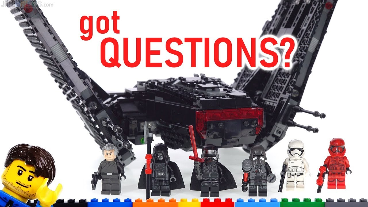 Preview Lego Star Wars Kylo Ren S Shuttle Taking Requests For The Review 75256 Brickhubs Home To Lego Videos More Brickhubs Home To Lego Videos More