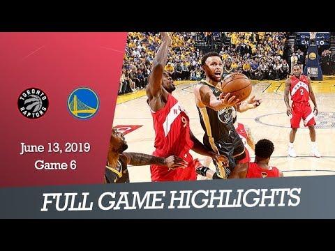 Toronto Raptors Vs Gs Warriors Game 3 Full Game Highlights June 5 2019 Nba Finals Youtube