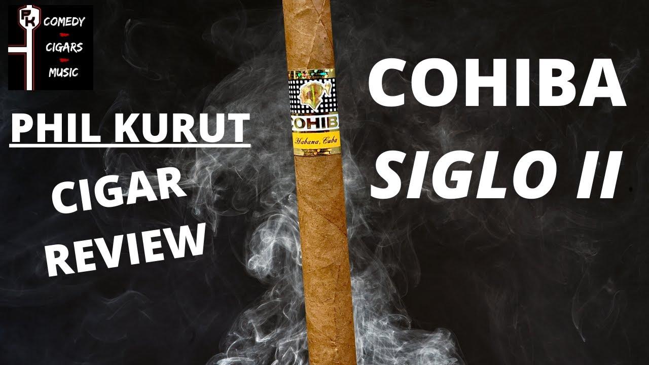 COHIBA SIGLO II CIGAR REVIEW