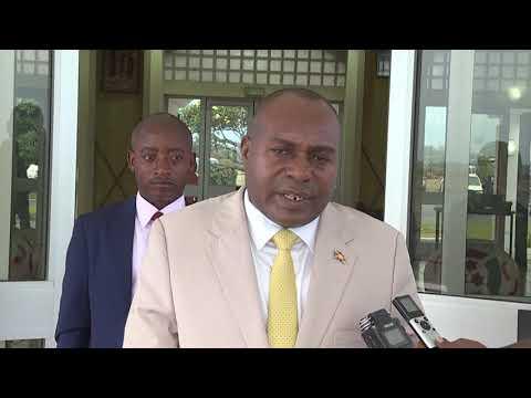 Le deuxième Vice-président de la République du Burundi prend l'avion à destination de Malabo