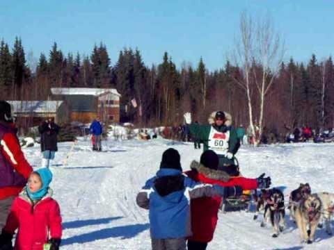 Iditarod 2011 #'s 58, 57 and 60