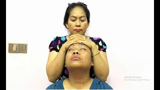 Refreshing Head, Hair Crack and Ear Massage ASMR - Mother