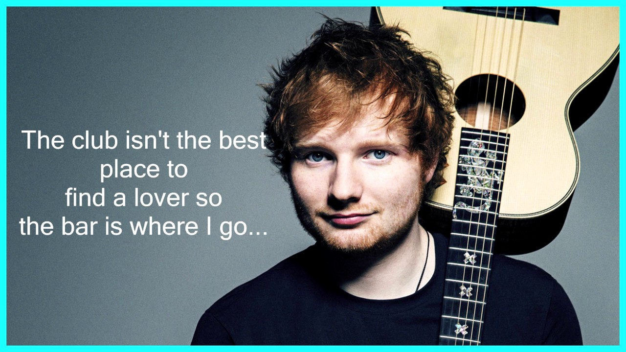 Image result for ed sheeran shape of you