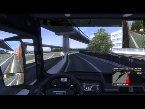 Euro Truck Simulator 2 con mods mapa China Guangzhou Map BETA link en la descripción
