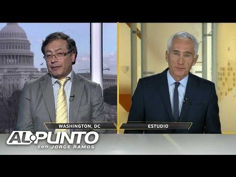 ¿Admiraba Gustavo Petro a Hugo Chávez? Esta fue la respuesta del aspirante presidencial colombiano