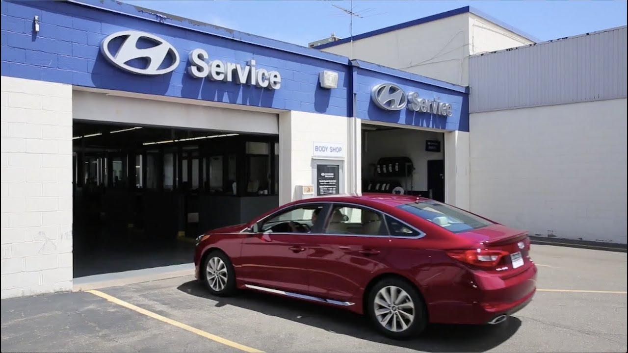 Hyundai Maintenance Schedule About The Buerkle Hyundai Service Center Youtube