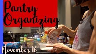 Watch me organize the pantry & Biotin talk!