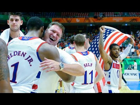Relive Team USA/Kansas Jayhawks in South Korea