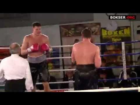 Alexander Dimitrenko KO's Albert Sosnowski Ründe 1...