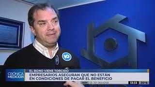 Los industriales de Córdoba piden negociar el bono de 5 mil pesos