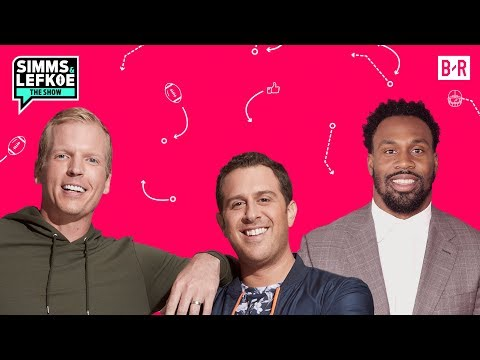 Steven Jackson On Life As A Patriot Before An AFC Title Game | Simms & Lefkoe: The Show S1E20