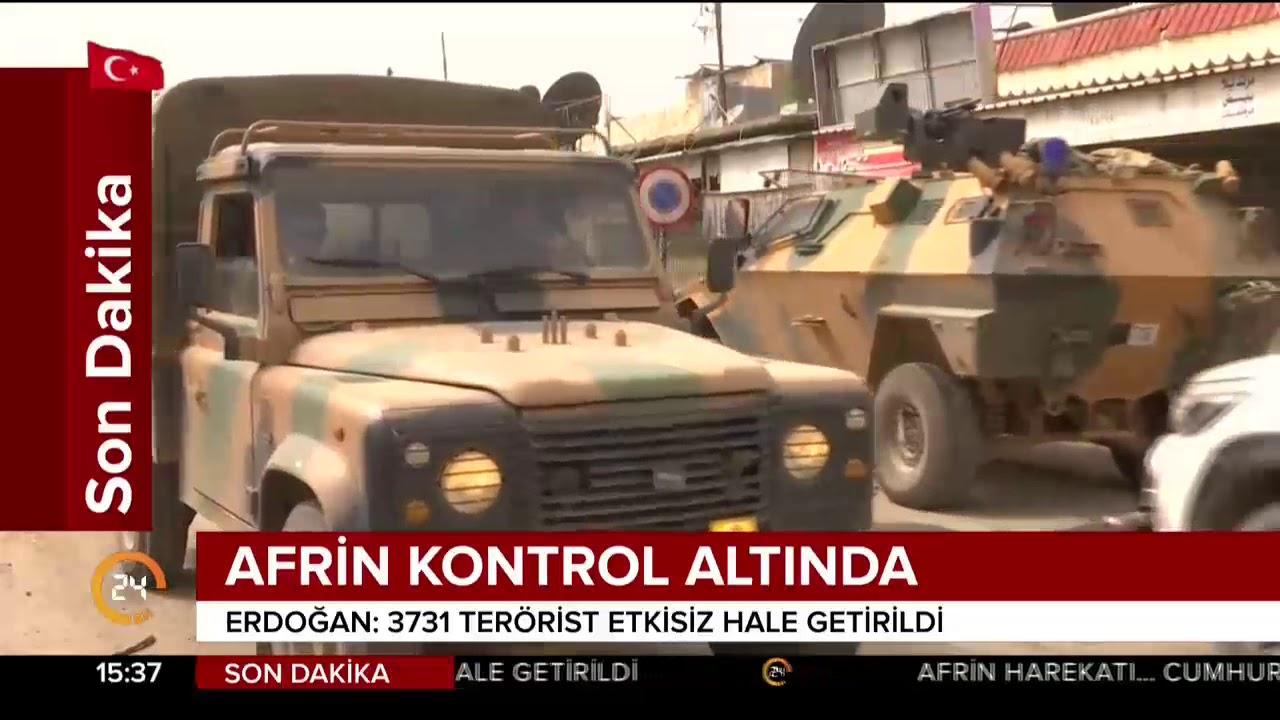 Afrin'de ÖSO kılığına girip hırsızlık ve yağma yapan çete çökertildi