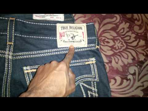 True Religion Jeans How To Tell If Their Real Or Fake