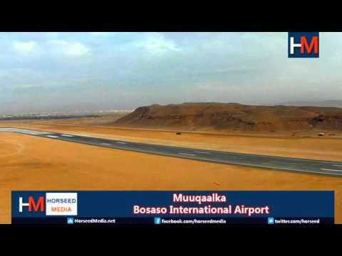 Bosaso Airport Aerial view