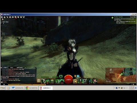Guild Wars 2-Let's Play # 29 (level 80 story further into orr/hunters & prey)