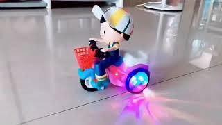 Đồ chơi cho bé yêu - Stunt Tricycle Do choi tre em
