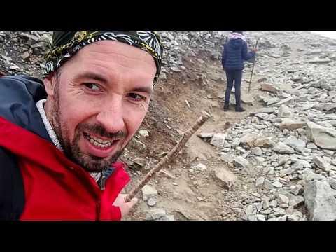 Croagh Patrick, Barefoot Climbing, 2017