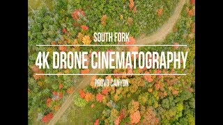 Provo Canyon Fall Colors in 4k - Drone Cinematography