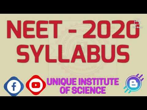 NEET 2020 SYLLABUS | NEET VERY IMP TOPIC | NEET PREPARATION | NEET EXAM PATTERN | NEET EXAM STRATEGY