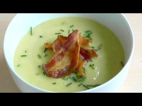 Easy tasty soup recipe leek onion potato how to cook youtube for Easy tasty soup recipes