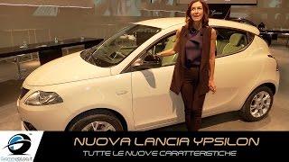 Nuova Lancia ypsilon   TUTTE LE NUOVE CARATTERISTICHE