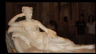 Путешествие по музеям. Вилла Боргезе.(Путешествие по музеям https://www.youtube.com/watch?v=WWWHAfyb-DM . Вилла Боргезе. Коллекция виллы Боргезе была основана..., 2011-10-30T23:48:32.000Z)