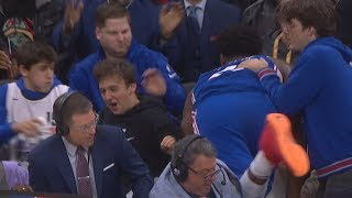 Embiid Dives Into Crowd! 76ers Undefeated Home! 2019-20 NBA season