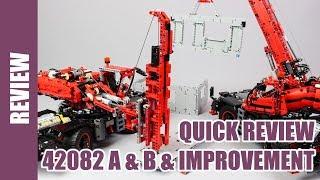 Лего серії Technic - 42082 A і B швидкий перегляд і поліпшення