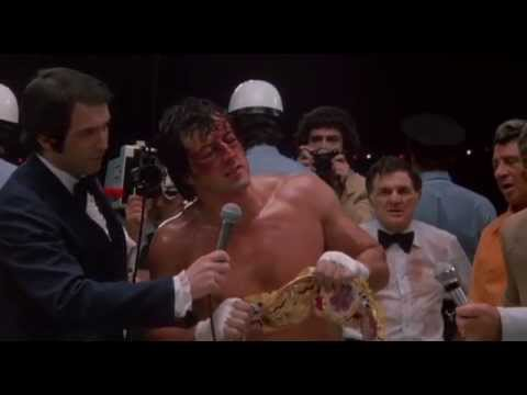 Rocky II – Rocky's Winning Speech (1979)