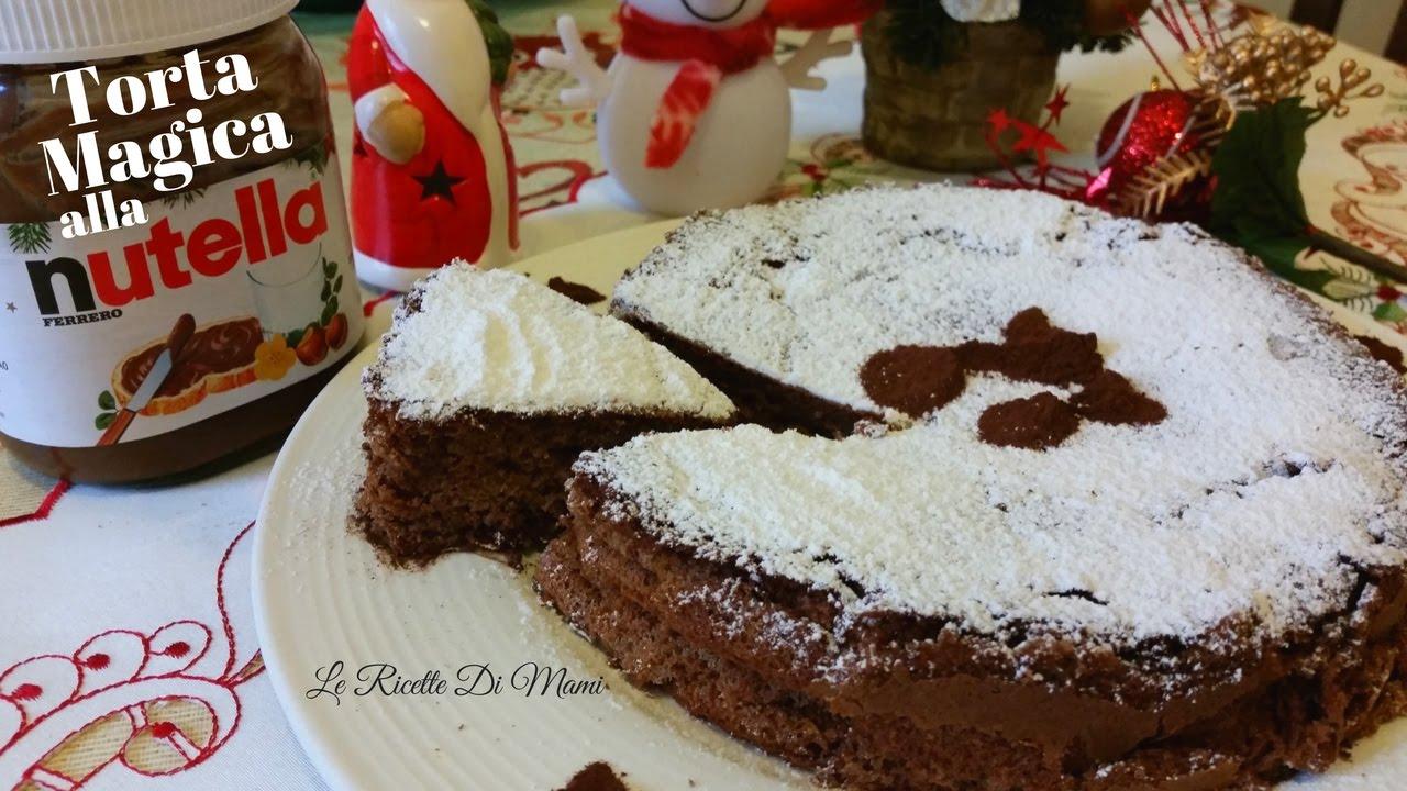 Famoso TORTA MAGICA ALLA NUTELLA CON SOLO 2 INGREDIENTI - CON NUTELLA  HB79