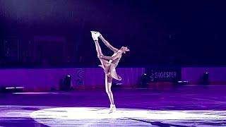 Evgenia Medvedeva Евгения Медведева Эхо 14 04 2021 Шоу Чемпионы на льду Санкт Петербург