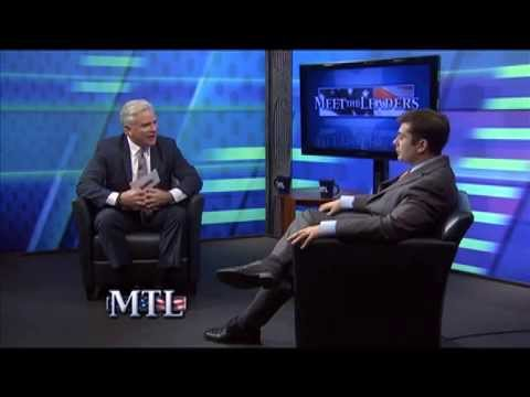 Long Beach City Manager Jack Schnirman interviewed by Pat Halpin on Cablevision's Meet the Leaders