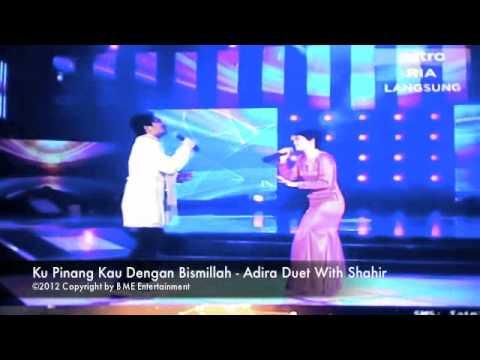 Adira & Shahir Duet Ku Pinang Kau Dengan Bismillah at Astro Mania Minggu 7