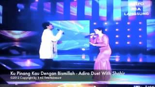 Gambar cover Adira & Shahir Duet Ku Pinang Kau Dengan Bismillah at Astro Mania Minggu 7