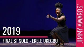 Gambar cover 2019 Jimmy Awards Winner Ekele Ukegbu