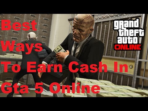 gta 5 online fastest way to make money best ways to earn money in gta 5 online youtube 5138