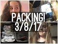 PACKING! Summer Vlog - Day 14 - 3/8/17