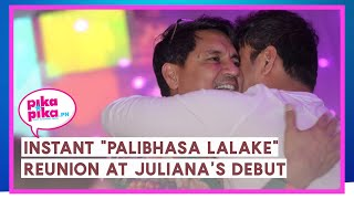 "#Juliana18: Instant ""Palibhasa Lalake"" reunion at Juliana Gomez's Debut"