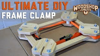 The Ultimate DIY Frame Clamp - Simple But Very Effective