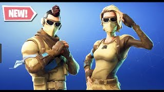 Fortnite New Armadillo et Scorpion Skins Desert Ops