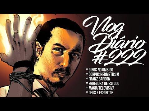 Giros no Umbigo, Corpus Hermeticum, Franz Bardon, Egrégora de estudo - Vlog Diário #222